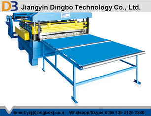 Automatic PPGI Steel Coil Cut To Length Machine Easy Operation 10-15m/Min
